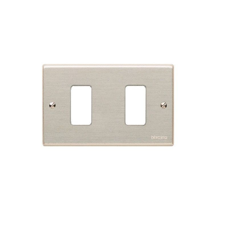 Magic Aluminum Cover Plates Two Module
