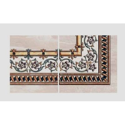 "Ceramic Floor Tile ""Corner Carpet 6012"""