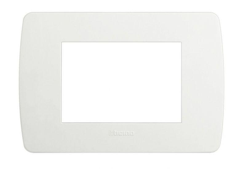 Solida White Cover Plate Three Modules
