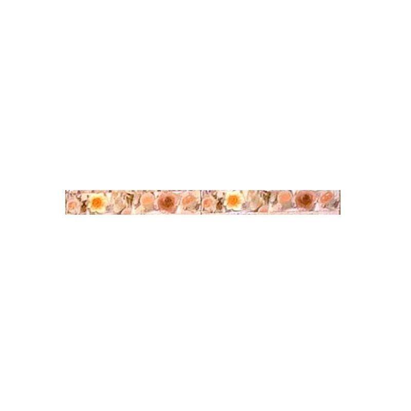 """Ceramic Zocalo Tile """" Rosette 8160VM"""""""