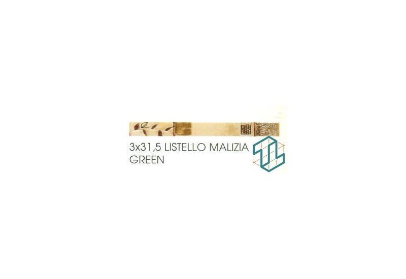Polinesia - Listello Malizia Green