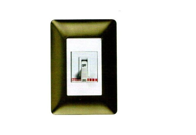 Safety Breaker In Matix Cover Plate 2p 30 A