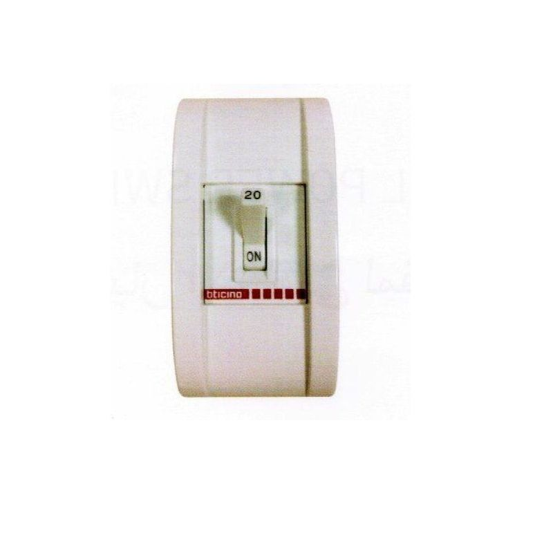 Safety Breaker In Plastic Back Box 30 A