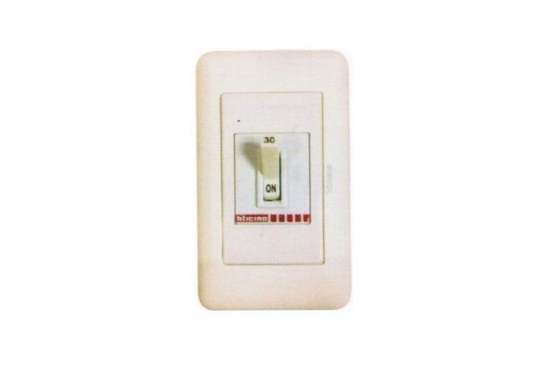Safety Breaker In Magic Advance Cover Plate 20 A 2P