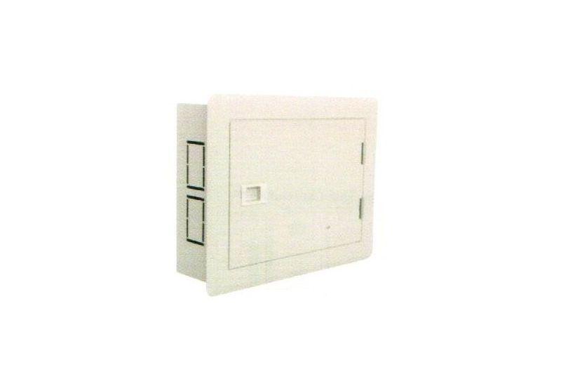 Flush Mounting Metalic Horizontal Panel 48 Modules