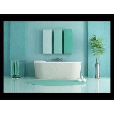 طقم الحمام الأزرق