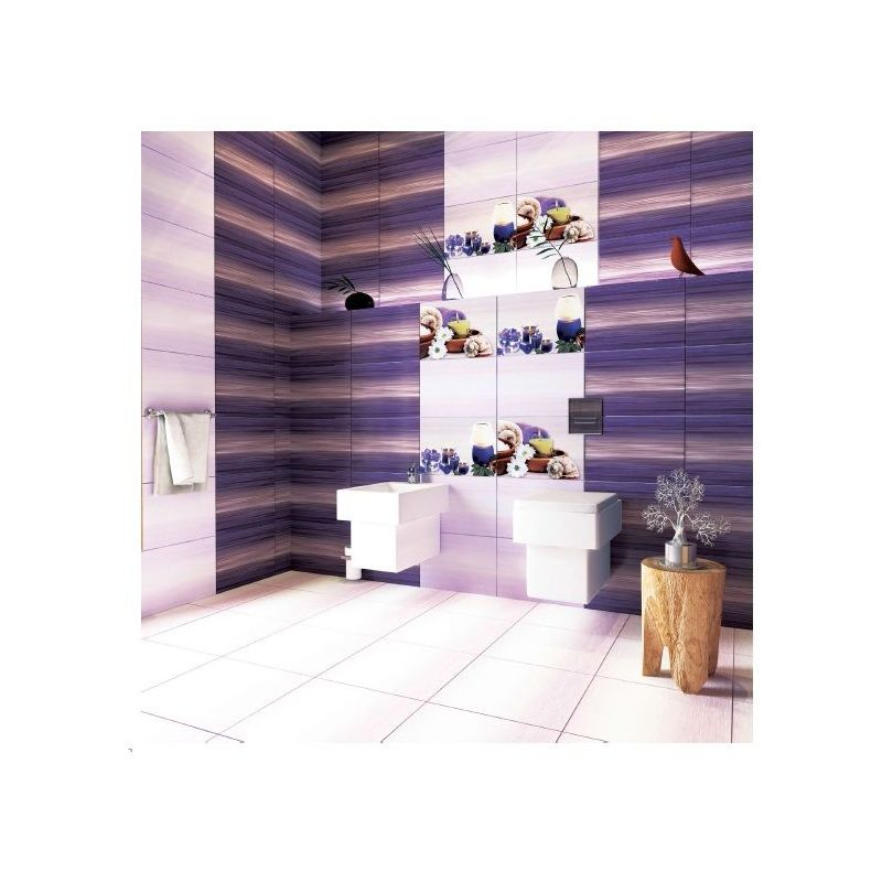 "Ceramic Wall Tiles""IJ 2600 Dark purple """