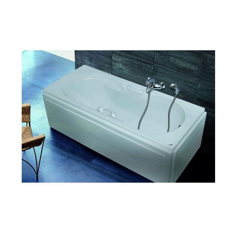 Tulip Bathtub (170*70) with handgrips