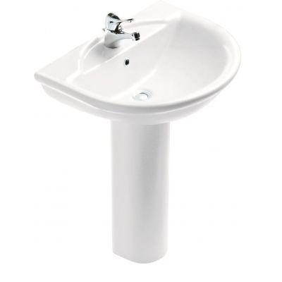 Esedra Floor Pedestal Basin 68 cm