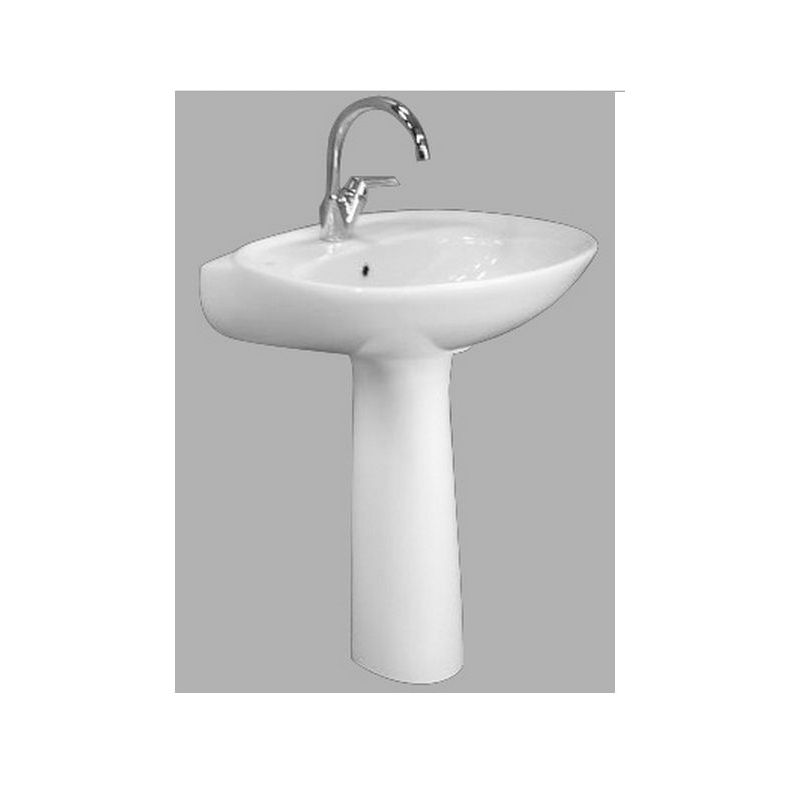 New Capri Floor Pedestal Basin 70 cm