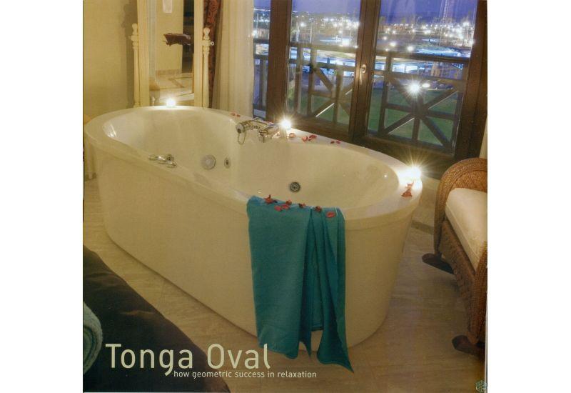 Tonga Oval Bathtub (180*90)