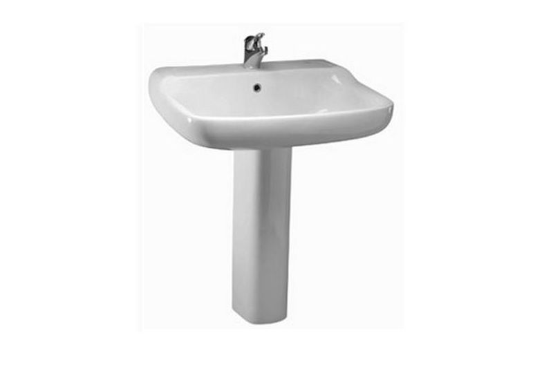 Conca Floor Pedestal Basin 64 cm
