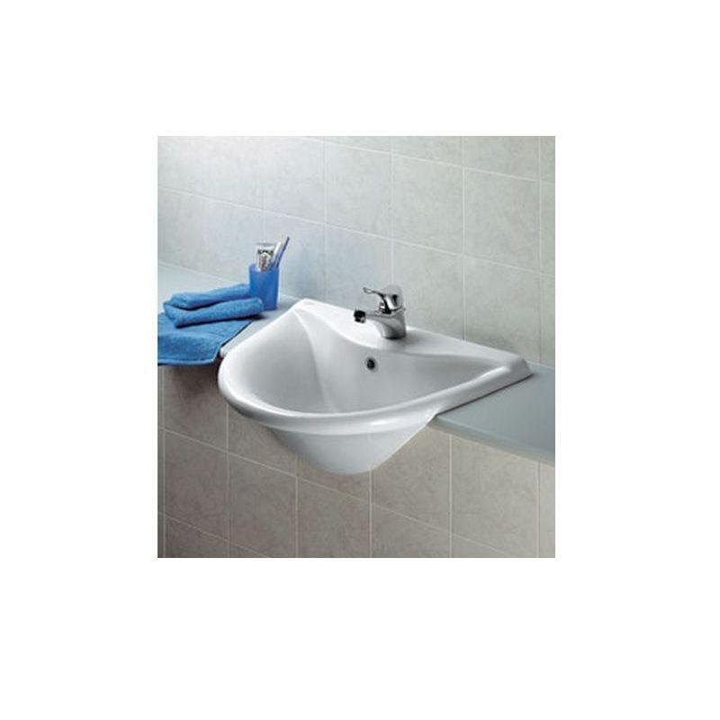 Diagonal Countertop Basin