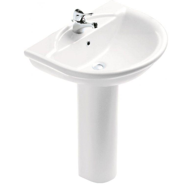 Esedra Floor Pedestal Basin 56 cm