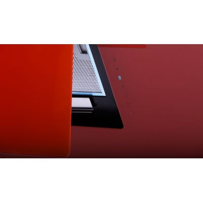 "Elegance Red""Cooker Hood 60cm"""