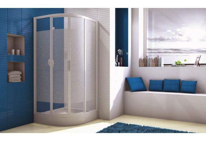 Sliding doors for corner-round Shower-Tray(80*80 cm)
