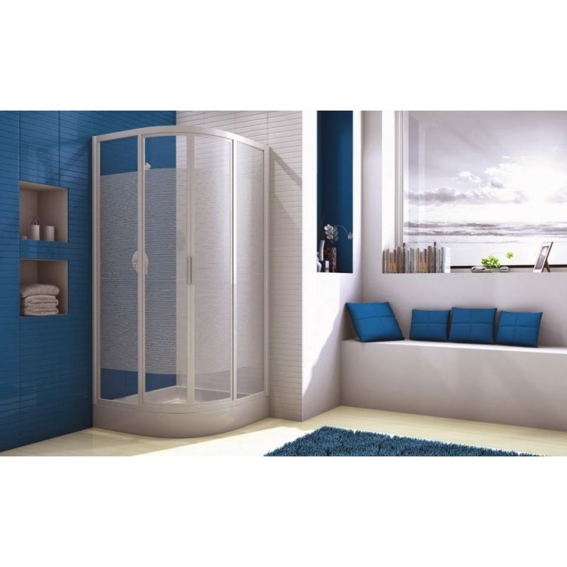 Sliding Doors for Corner-Round Shower-tray(90*90)