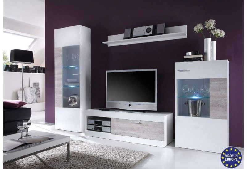 TV Cabinet (White Elegance)