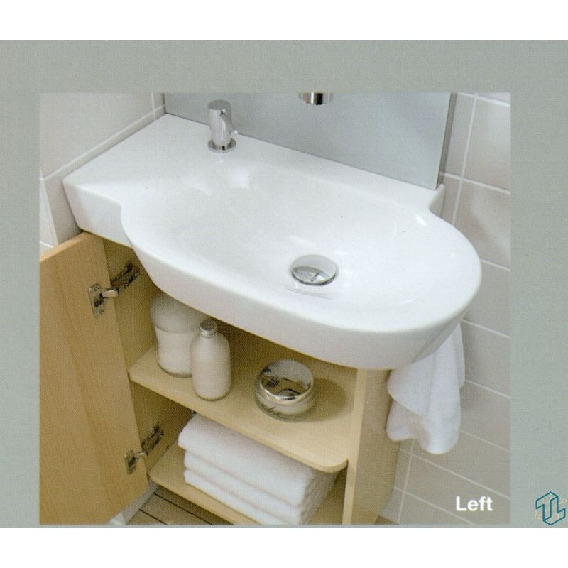 Tonic Guest Basin 60 cm (Left)