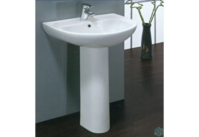 Space Floor Pedestal Basin 55 cm