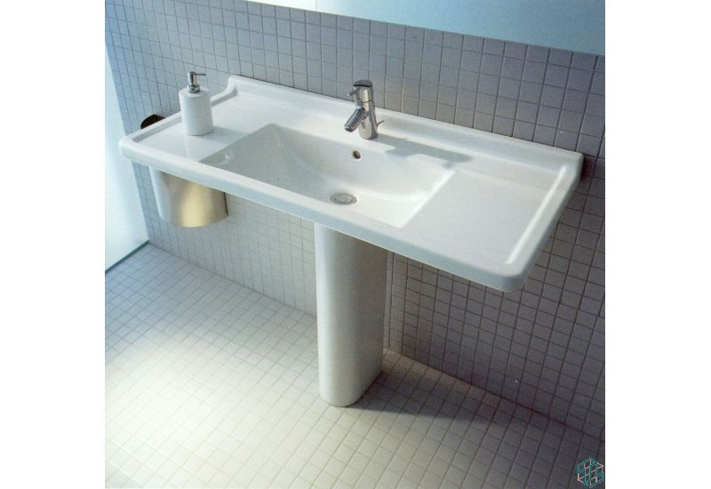 Starck 3 - Basin (70 cm) pedestal