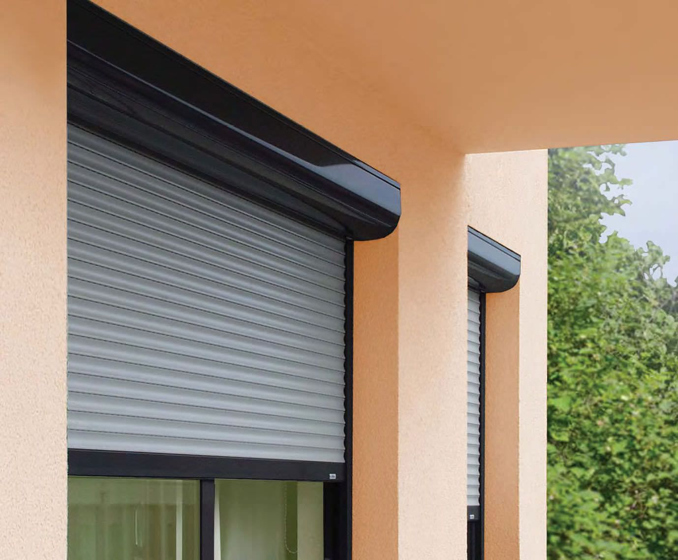 Aluminum Roller Shutters Adding Privacy to Your Home