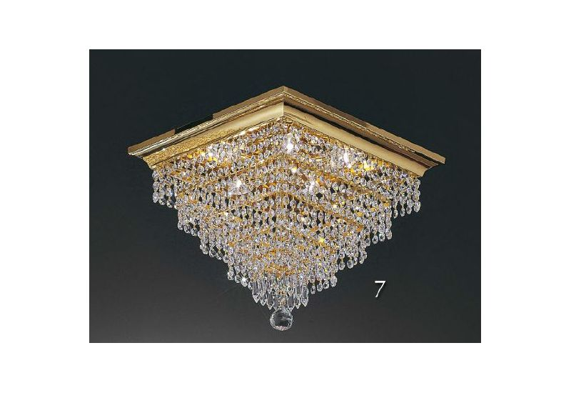 Square Crystal Chandelier PL5614/40