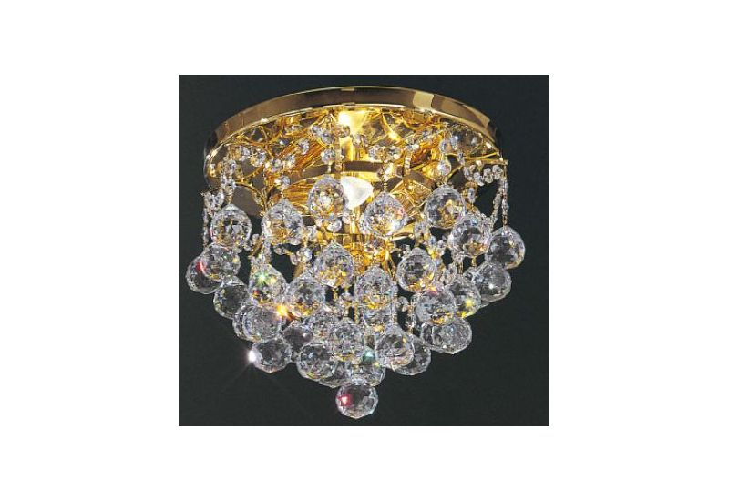 Pendulous Crystal Balls Chandelier PL832/40