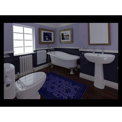 ديكور حمام كحلي