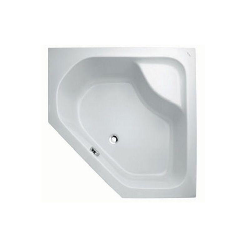 حمام قدم خماسى الأضلاع ( 100 × 100 × 28 ) سم