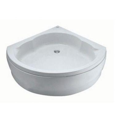حمام قدم كورنر بالجانب لسوبر شاور ( 90 × 90 ) سم.