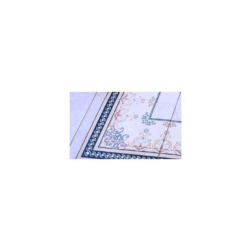 """Ceramic Floor Tile """"Corner Carpet 6002 """""""
