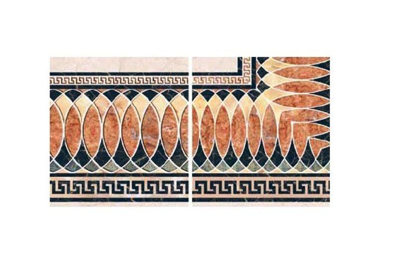 """Ceramic Floor Tile """"Corner Carpet 6007"""""""