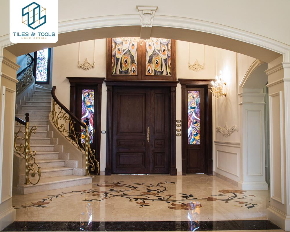 interior design for  le reve villa